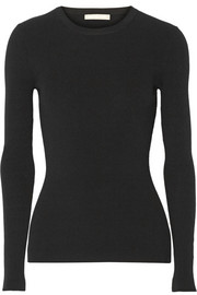 Michael Kors Ribbed jersey sweater