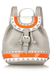 Sophia Webster Ziggy leather backpack