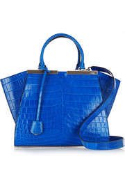 3Jours medium crocodile tote