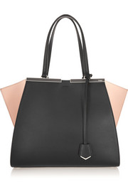Fendi 3Jours two-tone leather tote