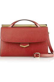 Fendi Demi Jours small textured-leather shoulder bag
