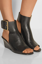 Yva leather sandals