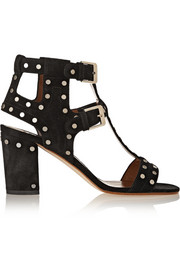 Helie studded suede sandals