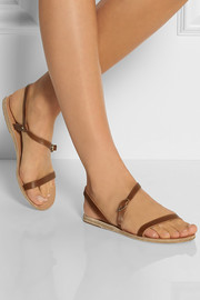 Ancient Greek Sandals Niove leather sandals