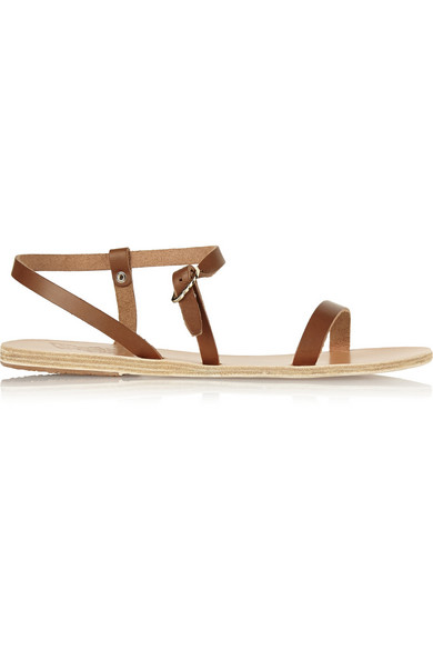 Ancient Greek Sandals Niove Leather Sandals Net A