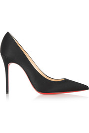 Christian Louboutin Décolleté 100 satin pumps