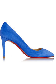 Christian Louboutin Pigalle 85 suede pumps