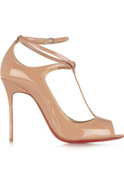 Christian Louboutin Talitha 100 patent-leather pumps