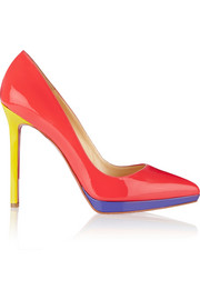 Pigalle Plato 120 patent-leather pumps