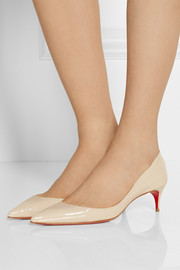 Christian Louboutin Rocket 45 patent-leather pumps