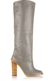 Vlada leather knee boots