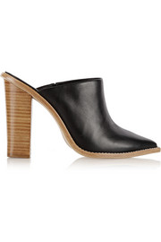 Tibi Windsor leather mules