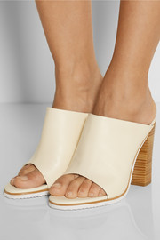 Tibi Bee leather mules