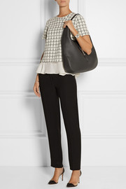 Gucci Jackie Soft Hobo textured-leather shoulder bag