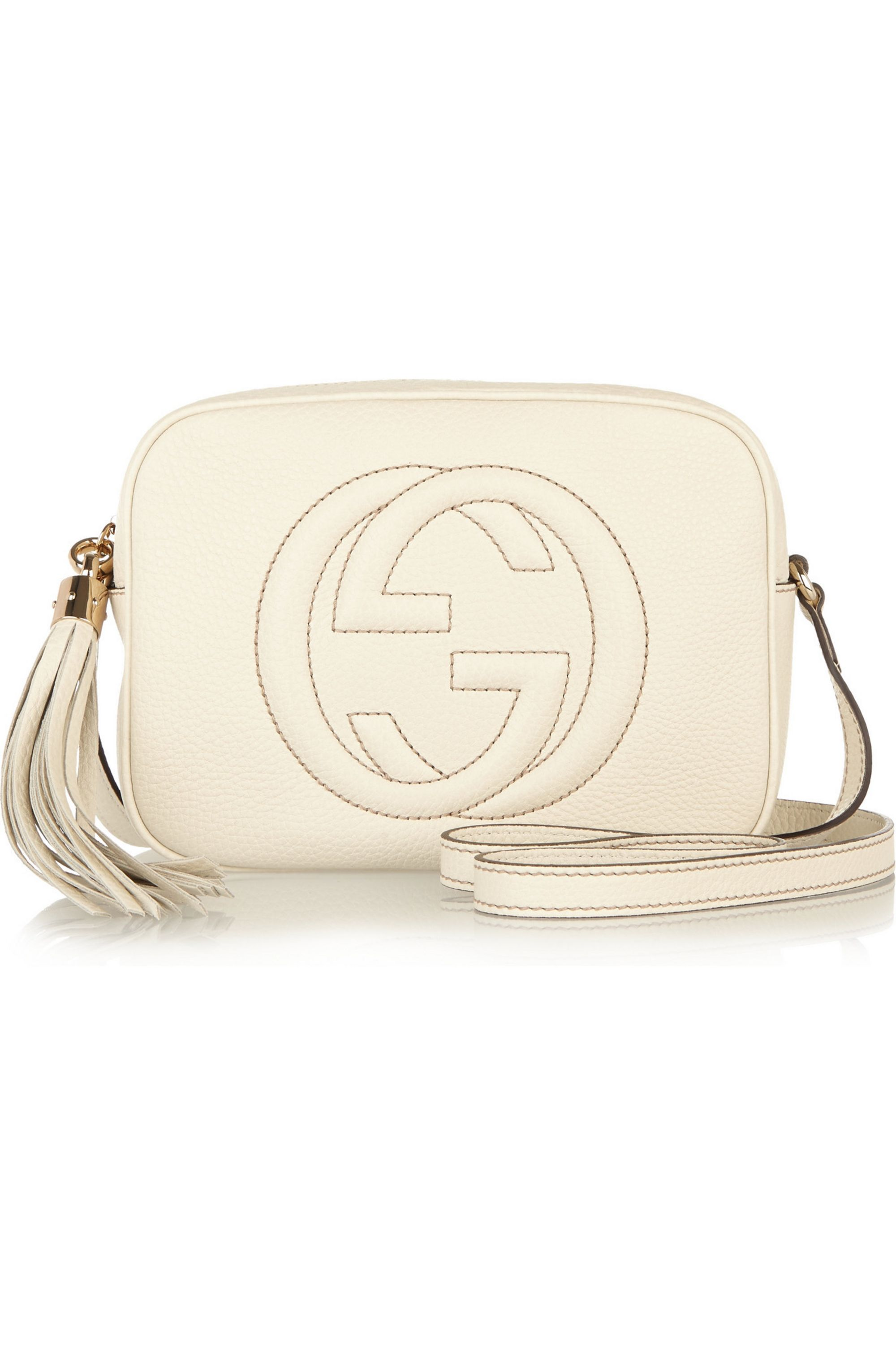Gucci Soho Disco small textured-leather shoulder bag
