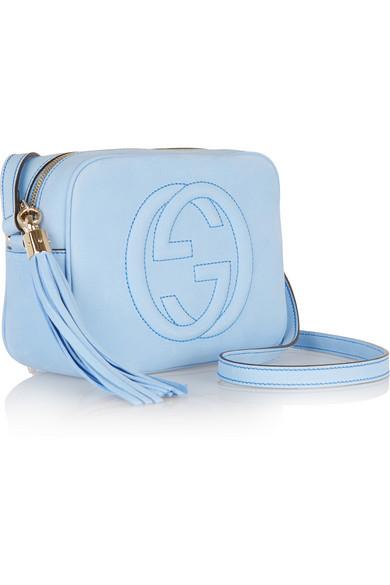 c97a734eaa3 Gucci. Soho Disco nubuck shoulder bag