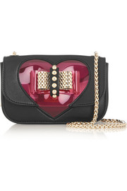 Sweety Charity mini PVC and leather shoulder bag