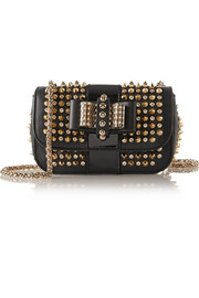 Christian Louboutin Sweety Charity mini spiked leather shoulder bag