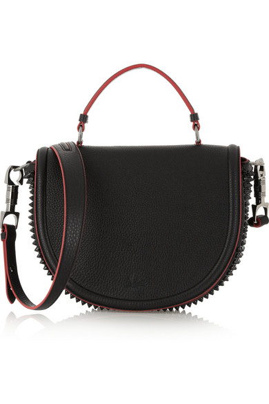 179862617ae Christian Louboutin. Panettone Messenger spiked textured-leather tote.  $1,795. Final Sale - This item is non-returnable. Zoom In