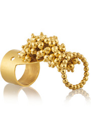 Jarama gold-plated ring