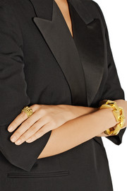 Paula Mendoza Toledo gold-plated ring