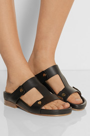 Chloé Studded leather sandals