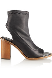 Chloé Cutout leather ankle boots