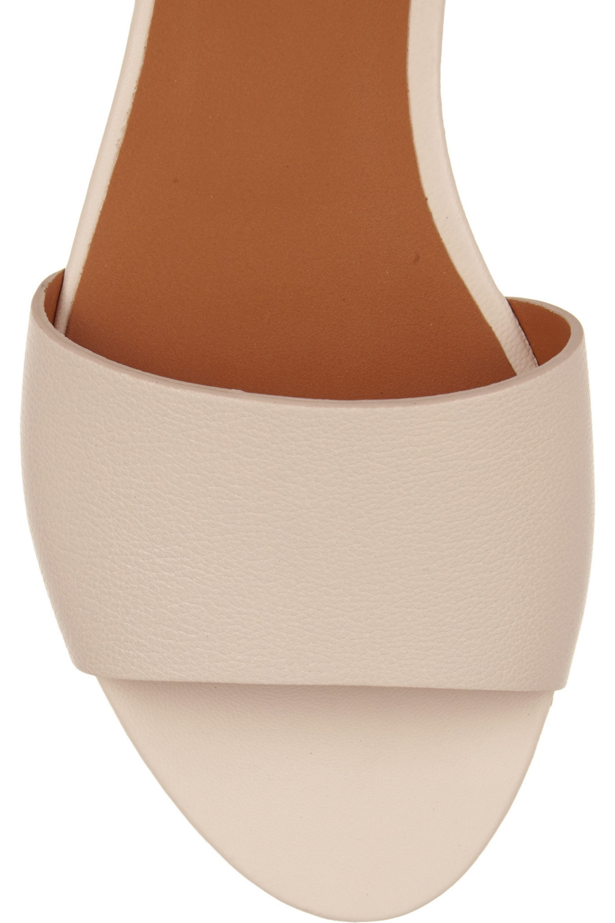 Chloé Textured-leather sandals