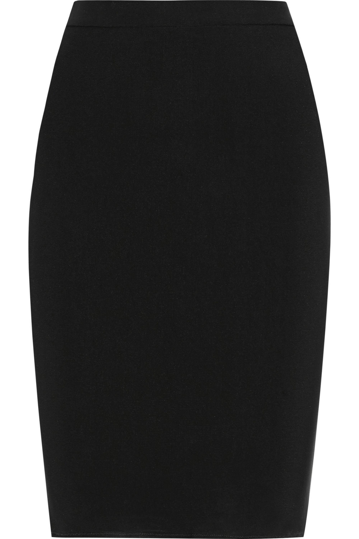Lanvin Stretch-ponte pencil skirt