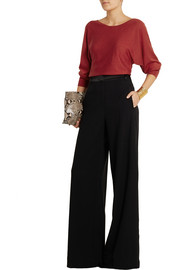 Lanvin Stretch cashmere and silk-blend sweater