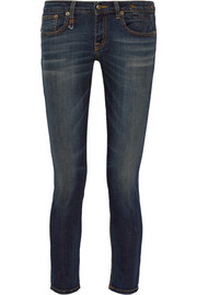 Kate low-rise stretch-denim skinny jeans