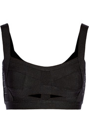 Cutout bandage cropped top
