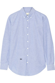Cotton Oxford boyfriend shirt