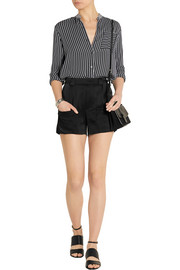 Band of Outsiders Satin shorts