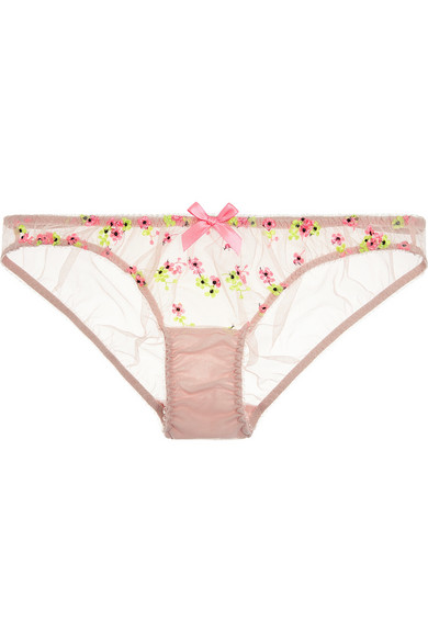 1ab7ba662c L Agent by Agent Provocateur. Clementina embroidered ...