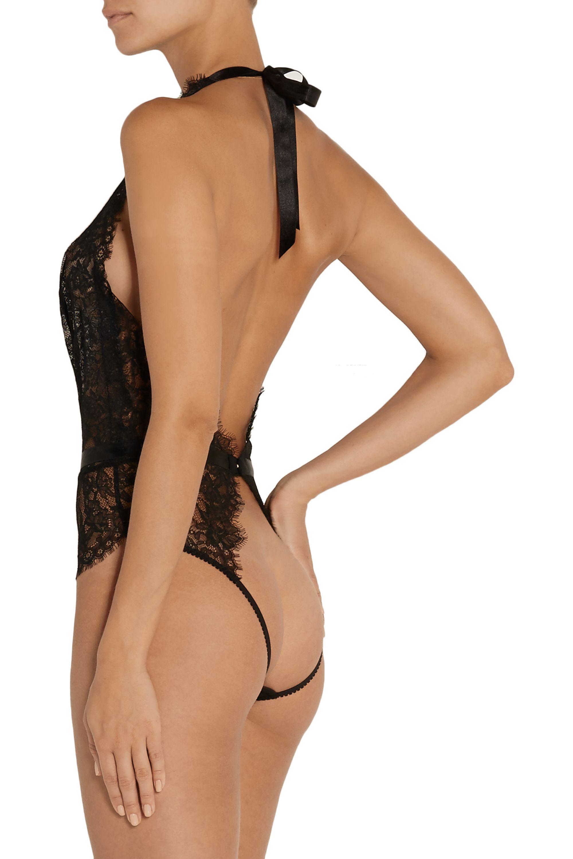 L'Agent by Agent Provocateur Idalia lace bodysuit
