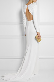 Stella McCartney Renee open-back crepe gown