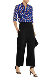 Stella McCartney Cropped jersey wide-leg pants