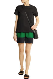 Stella McCartney Striped stretch-jersey shorts