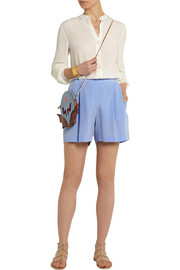 Zanda silk crepe de chine shorts