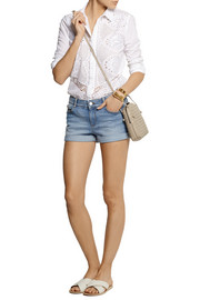 Stella McCartney Stretch-denim shorts