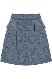 Manuela slub canvas mini skirt