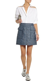 Stella McCartney Manuela slub canvas mini skirt