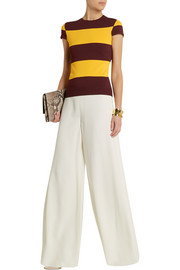 Stella McCartney Striped stretch-jersey top