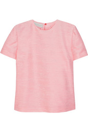 Stella McCartney Tina slub faille top