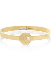 18-karat gold diamond bracelet
