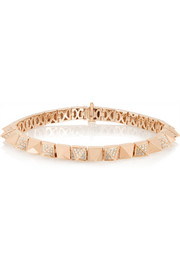Anita Ko Spike 18-karat rose gold diamond bracelet