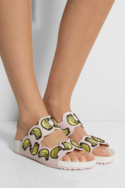Sophia Webster Becky embroidered leather sandals