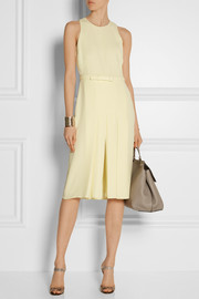 Gucci Pleated cady dress