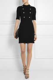 Gucci Stretch-twill mini dress